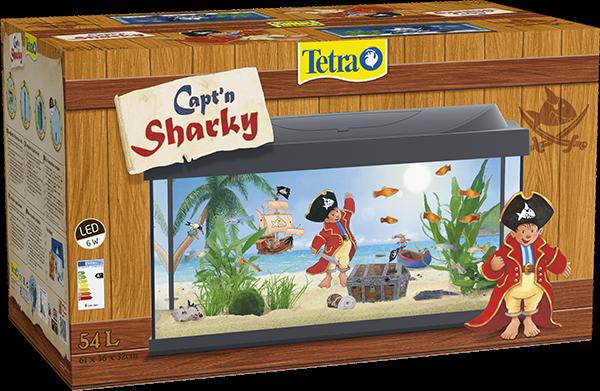 Tetra Capt'n Sharky Aquarium