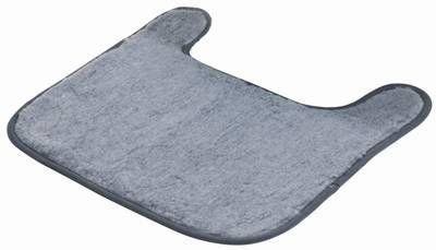 Trixie Vorleger für Katzentoiletten, Polyester, 50 × 50 cm, grau