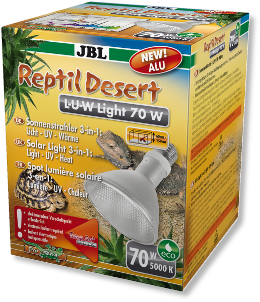 JBL ReptilDesert L-U-W Light 70W