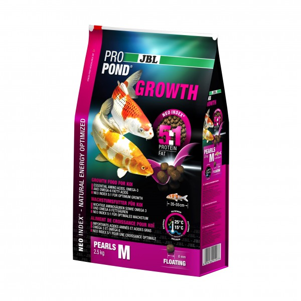 JBL ProPond Growth M 2,5kg 6l