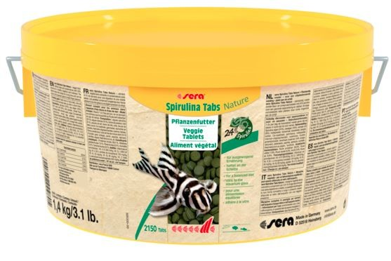 sera Spirulina Tabs Nature 1,4 kg