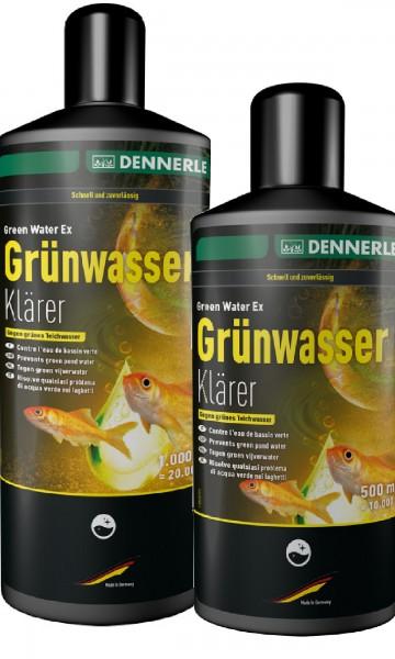 Dennerle Grünwasserklärer - 500 ml oder 1000 ml